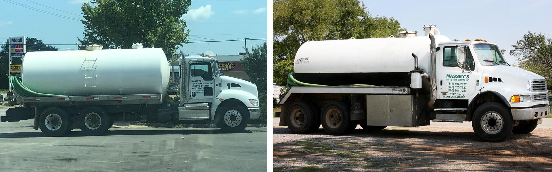 MSTS Services Septic Tank Flushing Trucks